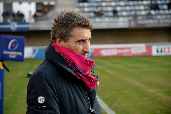 Mohed Altrad, président du Club de Rugby de Montpellier (MHR).