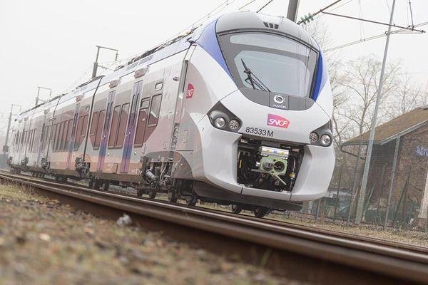 Un train Coradia Régiolis d'Alstom