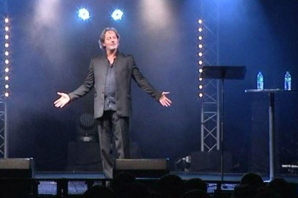 Christophe Alévêque au festival de Chanteix, le 9 août 2013