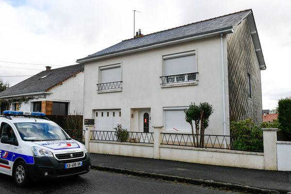 La maison de la famille Troadec à Orvault, endroit où Hubert Caouissin a commis le quadruple homicide.