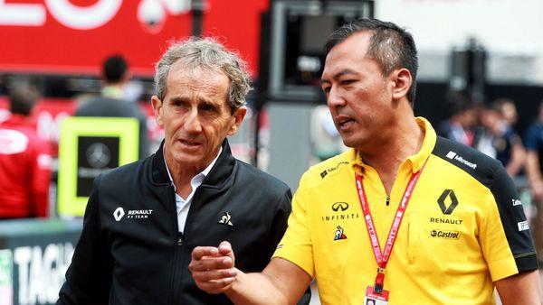 Alain Prost Conseiller spécial de l'équipe Renault F1