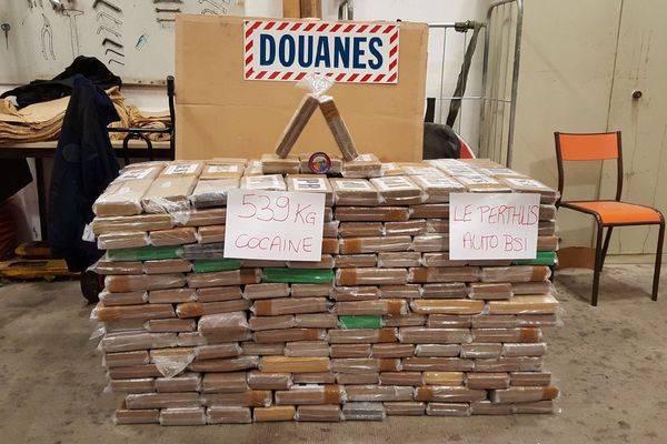 Perpignan - 540kg de cocaïne saisis au Boulou en janvier - mars 2018.