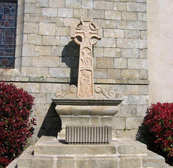 Croix des missions à Crac'h