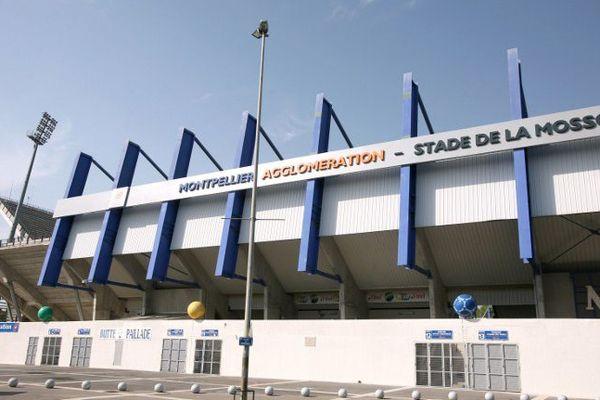 Le stade de la Mosson à Montpellier