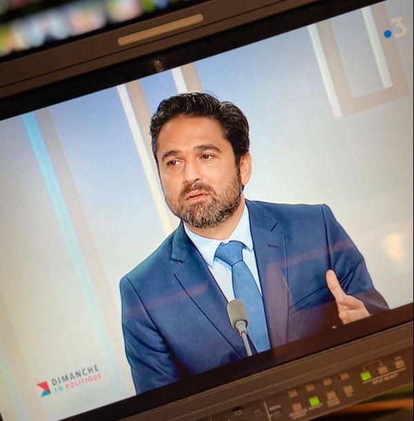 Le maire de Reims Arnaud Robinet.