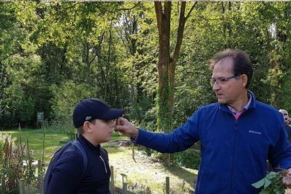 """Sortie à L'abbaye de Vauclair en """"cours d'Herbologie"""", rencontre avec un botaniste et un pharmacien"""