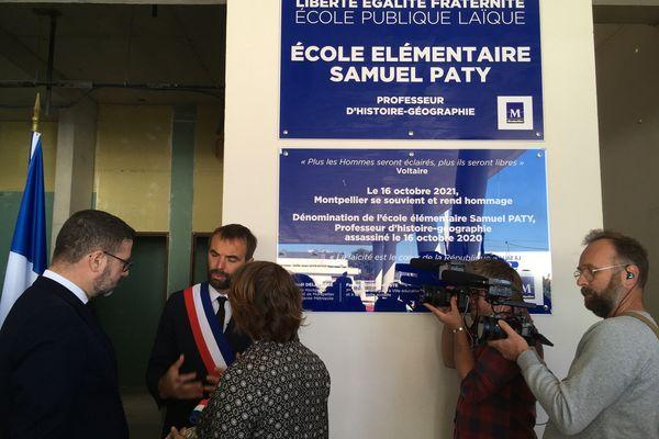 Cette future école primaire montpelliéraine sera nommé en hommage à Samuel Paty.