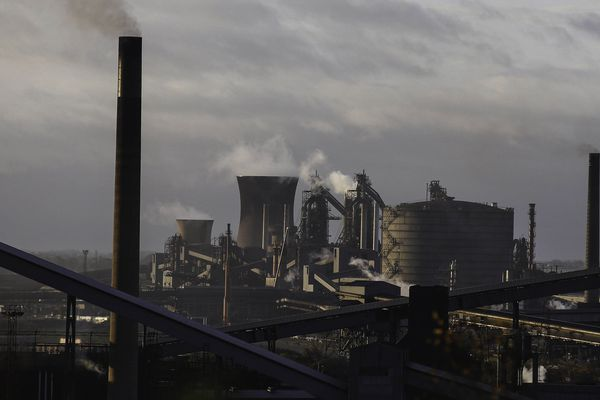 L'usine de Scunthorpe de British Steel en Angleterre.