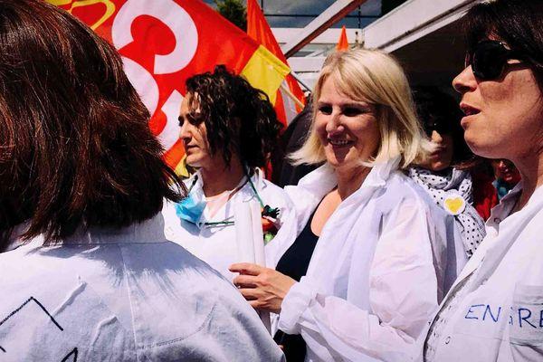 Les infirmières des urgences de l'hôpital de Valence sont en grève illimitée depuis le 27 mars