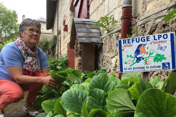 """Le jardin de Brigitte Verdelet est labellisé """"refuge LPO"""" depuis une quinzaine d'années."""