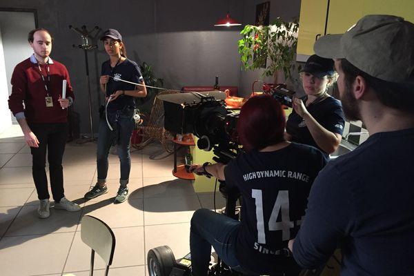 Une école éphémère du Cinéma ouvre ses portes pendant le Festival International du Court Métrage de Clermont-Ferrand. L'occasion pour le public de découvrir les coulisses d'un tournage.