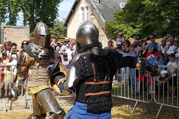 La 4ème édition des Médiévales de Busset se déroule les 12 et 13 août 2017.
