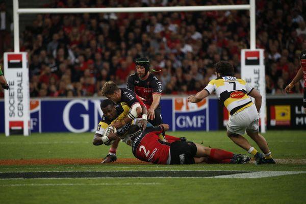 Rugby XV : Championnat de France / Demi Finale Top 14 Match RCT ( RC Toulon) vs Stade Rochelais ( La Rochelle) au stade vélodrome