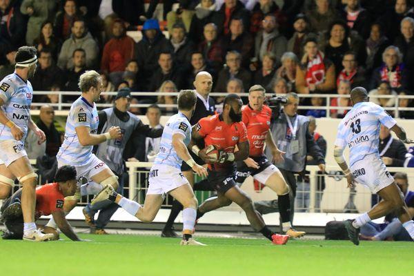 Les Toulonnais ont été largement dominés par le Racing 92.