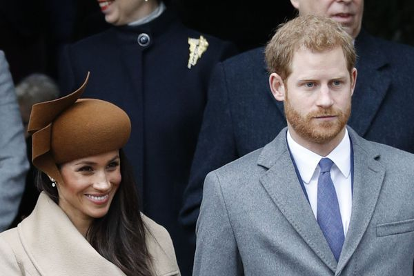 Meghan Markle et le prince Harry le 25 décembre dernier.