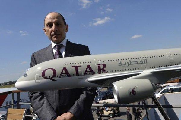 Le PDG de la compagnie Qatar Airways, Akbar Al-Baker