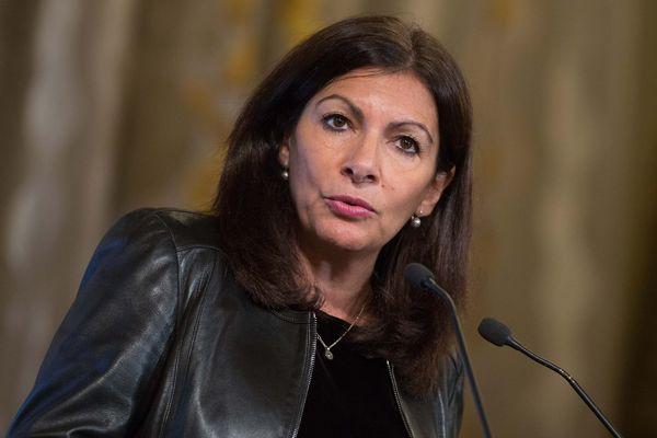 La maire de Paris Anne Hidalgo, en décembre 2017.