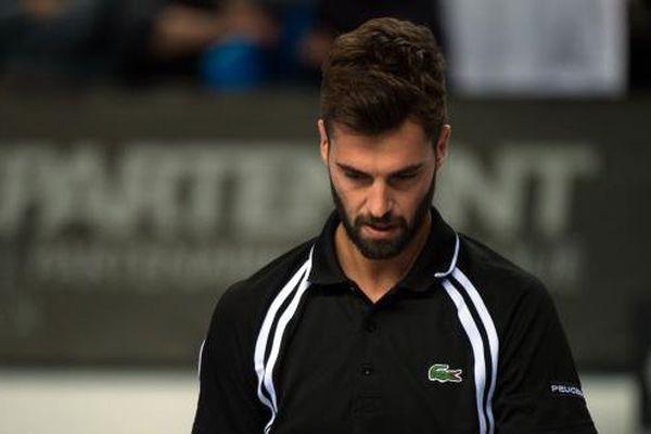 Déception pour l'Avignonais qui avait créé la sensation la veille en disposant du Suisse Stan Wawrinka, 4e joueur mondial. Il s'est incliné ce samedi face à  Cilic (12e) en trois sets, 6-2, 6-7, 6-3.