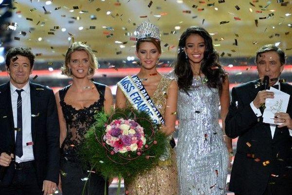 Camille Cerf, Miss Nord Pas-de-Calais, était annoncée comme l'une des grandes favorites.