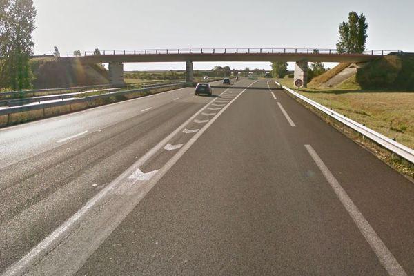 L'accident a eu lieu samedi 16 janvier sur l'autoroute A61, entre Toulouse (Haute-Garonne) et Carcassonne (Aude), au niveau de l'embranchement de l'autoroute A66.