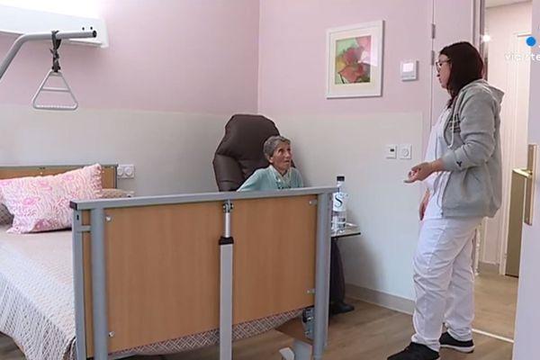 Le centre de convalescence accueille 78 personnes âgées.