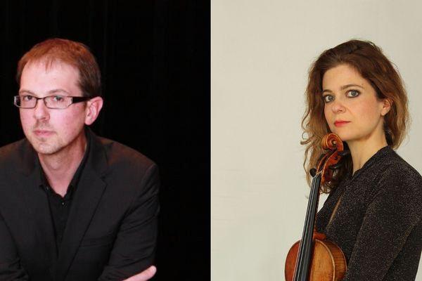 Isabelle Durin et Michaël Ertzscheid, les deux solistes qui donneront ce concert exceptionnel