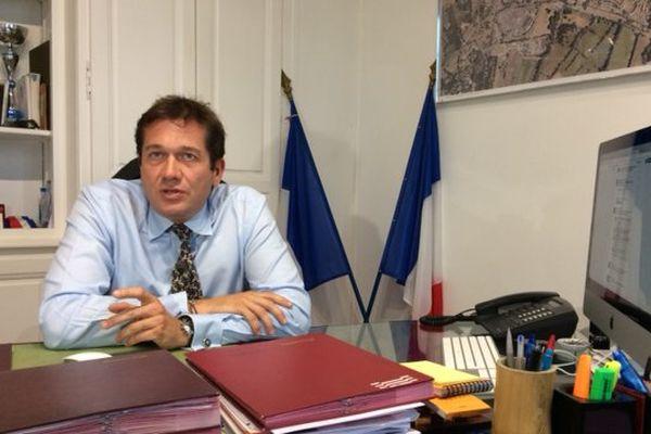 Marc Etienne Lansade, élu FN de Cogolin dans le Var.