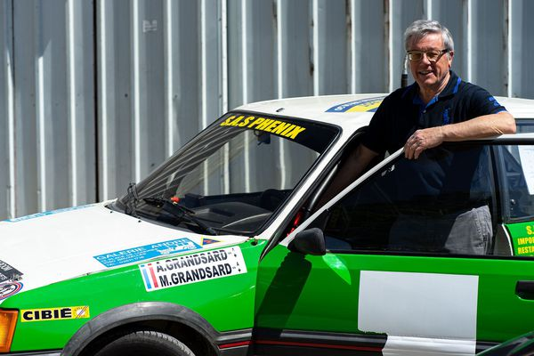 Didier Carayon est le président du musée de l'automobile de Reims