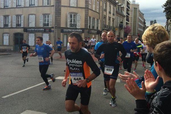 De nombreux coureurs dans les rues de Limoges ce matin