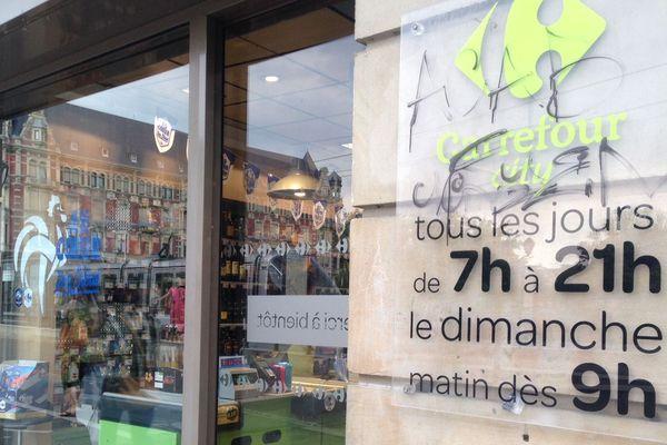Un supermarché Carrefour city, à Strasbourg.