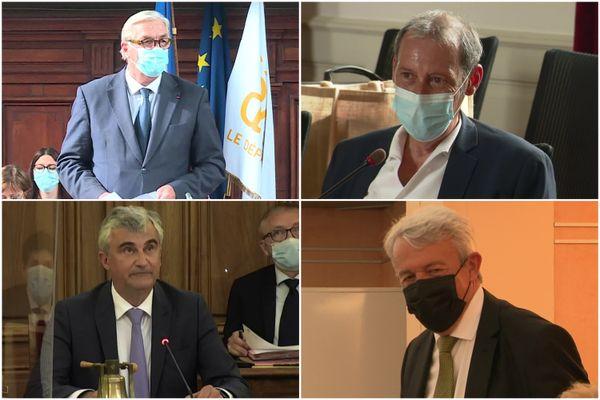 François Sauvadet, Fabien Bazin, André Accary et Patrick Gendraud.