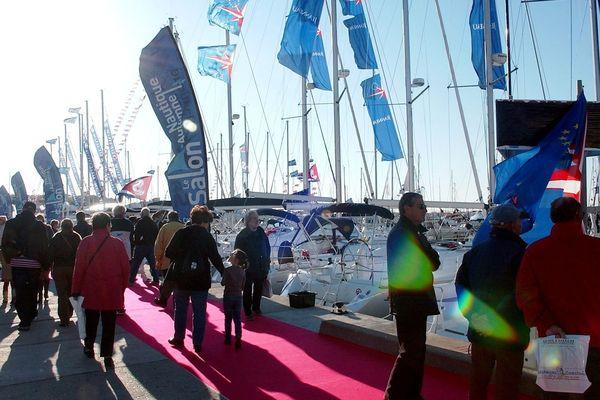 Cap d'Agde - le salon nautique est le 3e de France en terme de fréquentation - novembre 2019