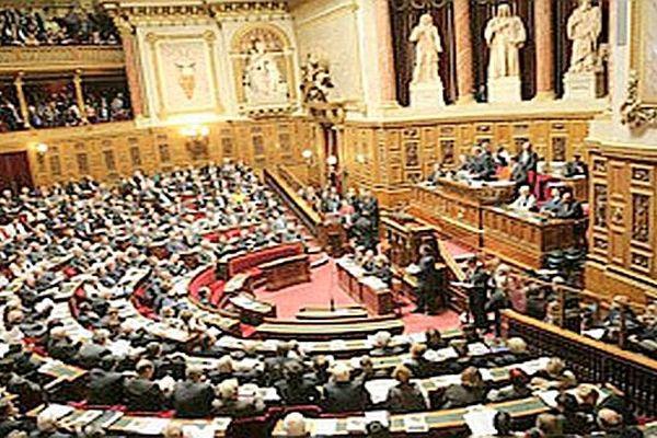 L'hémicycle du Sénat, où les lauréats ont reçu leur prix.