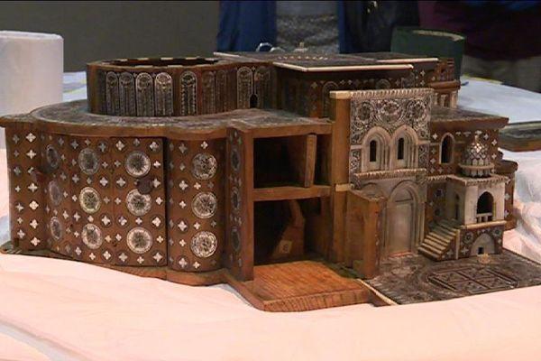 Une maquette de la Basilique du Saint Sépulcre - Jérusalem