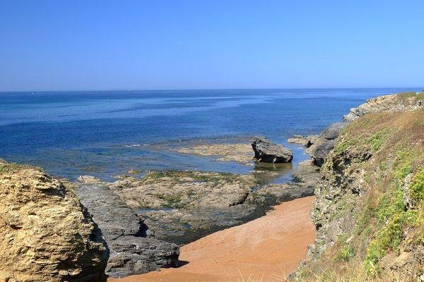 Petite plage à Saint Gilles Croix de Vie - Vendée