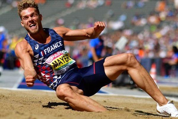 Kevin Mayer vient de battre son propre record en saut en longueur (7m80) ce samedi.