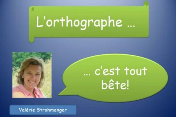 Capture d'écran d'une vidéo de la chaine YouTube de Valérie Strohmenger.