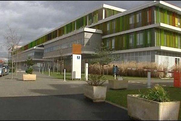 Le centre hospitalier de Roanne
