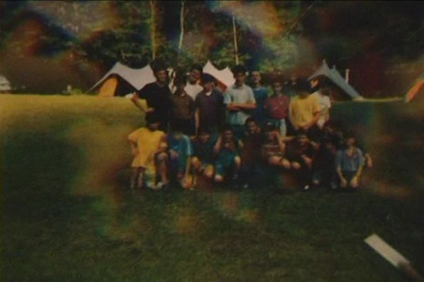 Juillet 1993, le camp accueille 44 garçons venus de toute la France