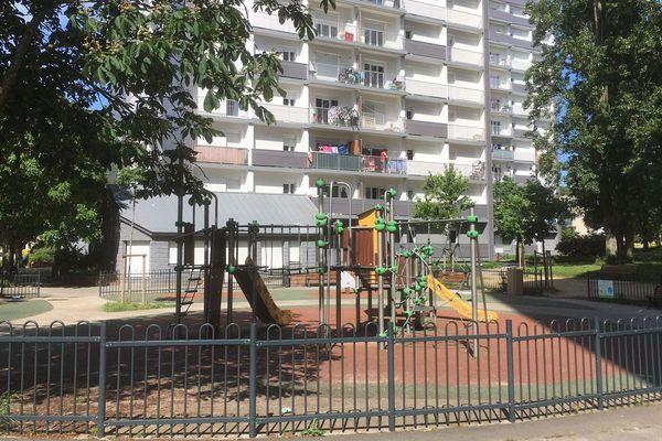 Le quartier du Blosne à Rennes