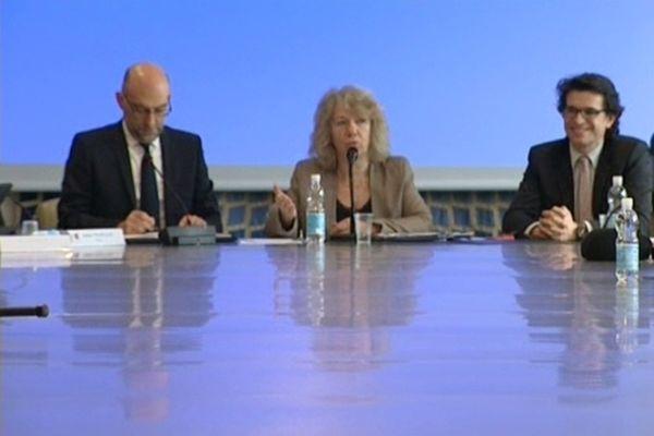 La présidente du PRES, Marie-France Barthet , a su recoller les morceaux.