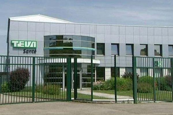 L'entreprise TEVA à Sens (89)