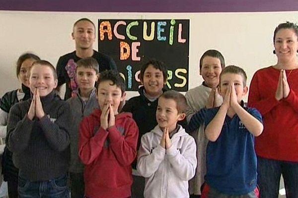 Des ateliers pédagogiques accompagnent les séances de cinéma, comme ici à Selongey.