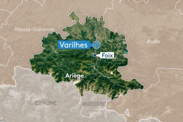 """Les faits se seraient déroulés au lieu-dit """"Le Courbas"""" à Varilhes en Ariège."""