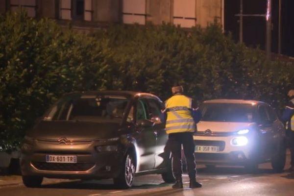 400 gendarmes étaient mobilisés aux bords des routes en cette soirée de réveillon