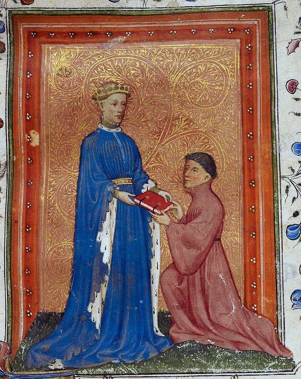 Le futur Henry V représenté en prince de Galles.
