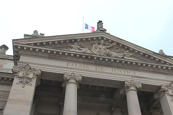 Le tribunal de grande instance de Strasbourg.