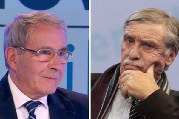 Les députés socialistes Daniel Boisserie et Michel Vergnier
