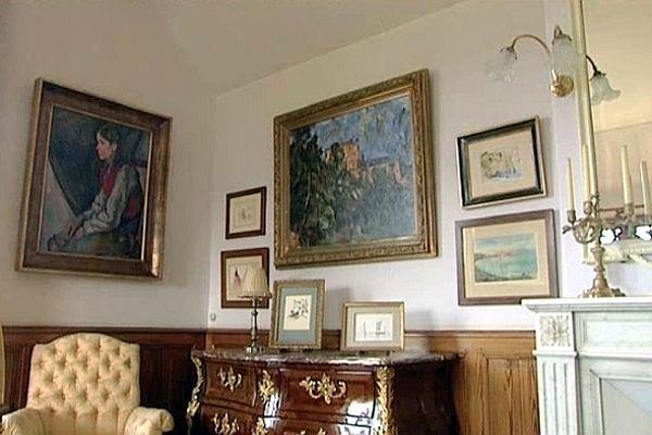 Le public peur à nouveau visiter la chambre de Claude Monet à Giverny.