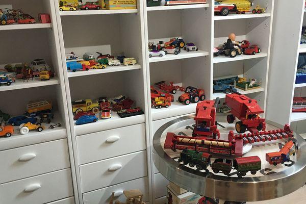 Un grenier transformé en musée du jouet